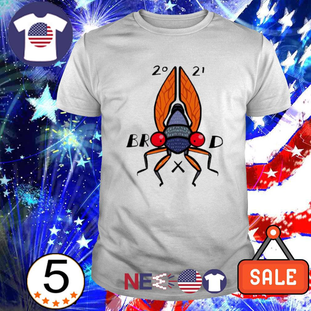 Welcome to the summer of the cicadas brood 2021 shirt