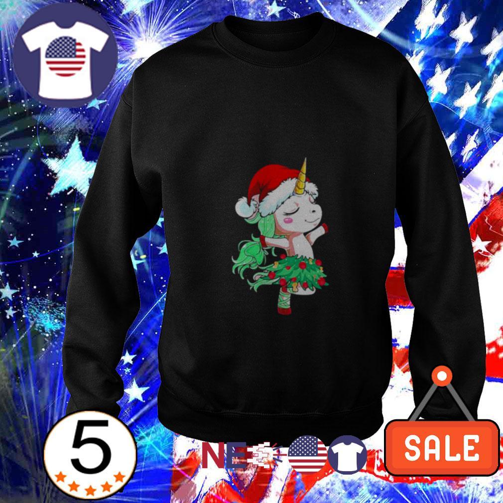 Santa Unicorn dancing Sweater