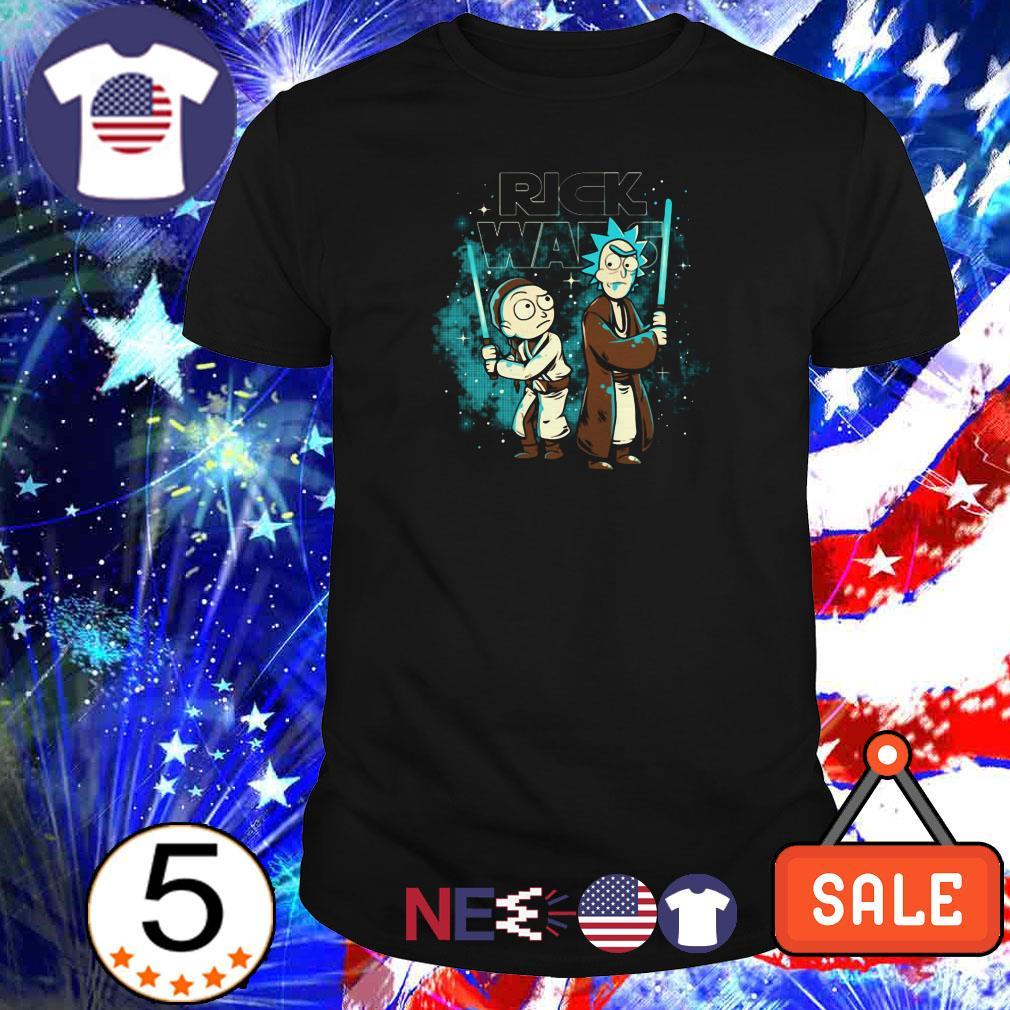 Rick and Morty Rick Wars Star Wars shirt