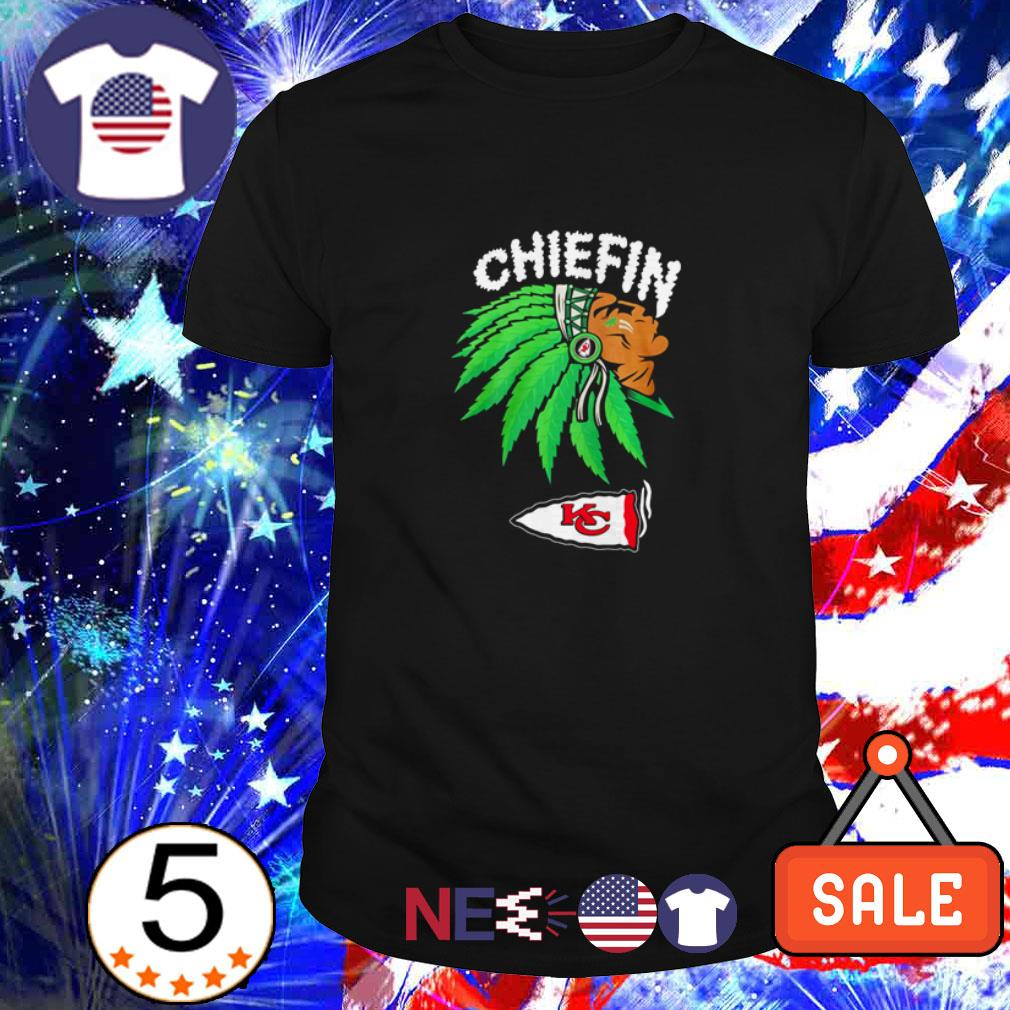 Kansas City Chiefs Weed Hood Smoking Chiefin shirt