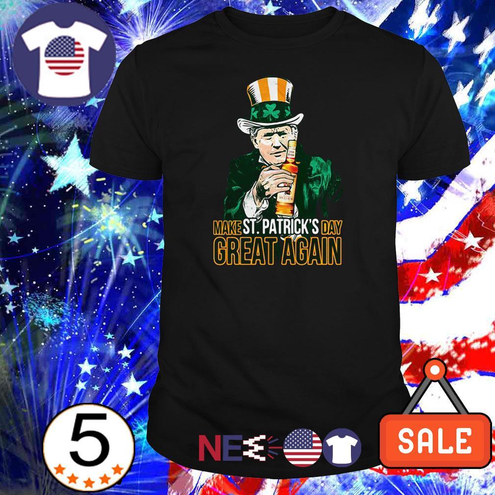 Trump Make St.Patrick's Day Great Again Captain Morgan shirt