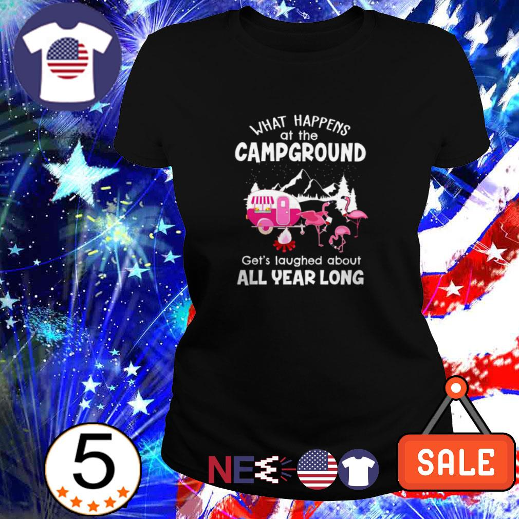What happens at campground shirt
