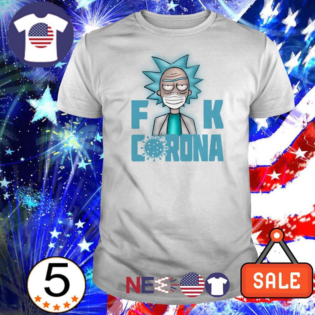 Rick Sanchez fuck Corona shirt