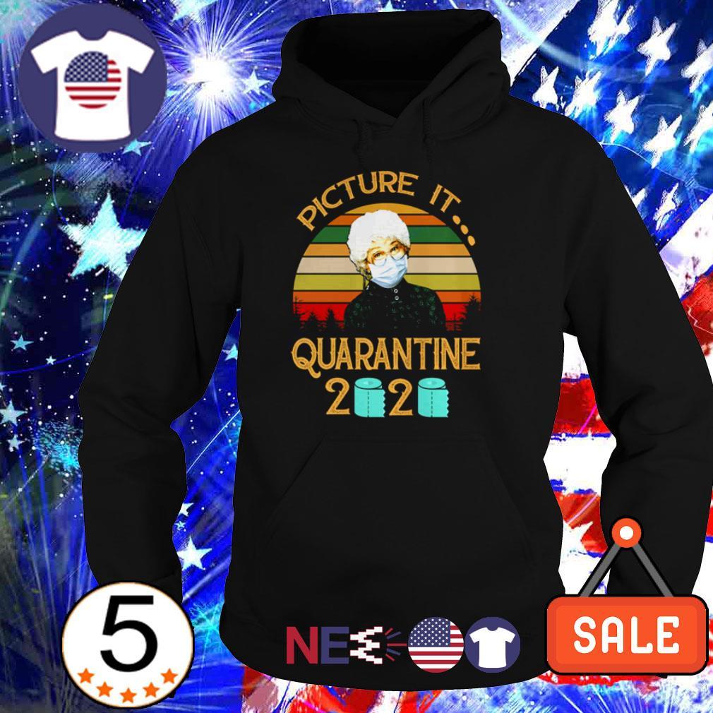 The Golden Girl picture it quarantine 2020 vintage shirt