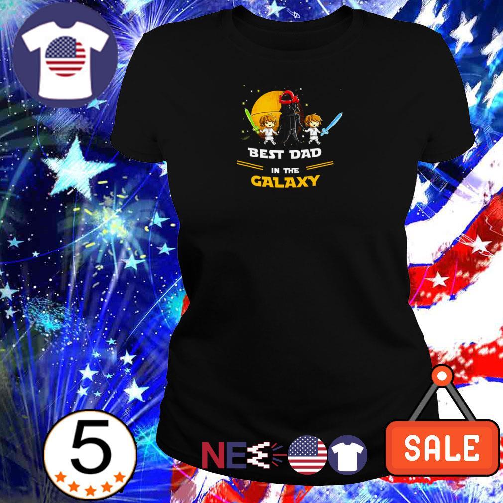 Star Wars Darth Vader best dad in the galaxy shirt