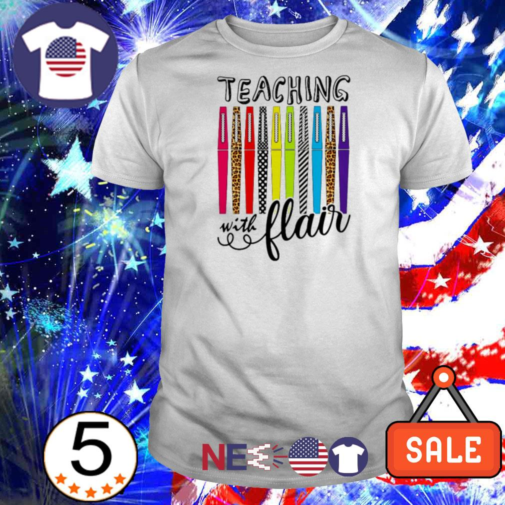 Official teaching with flair shirt