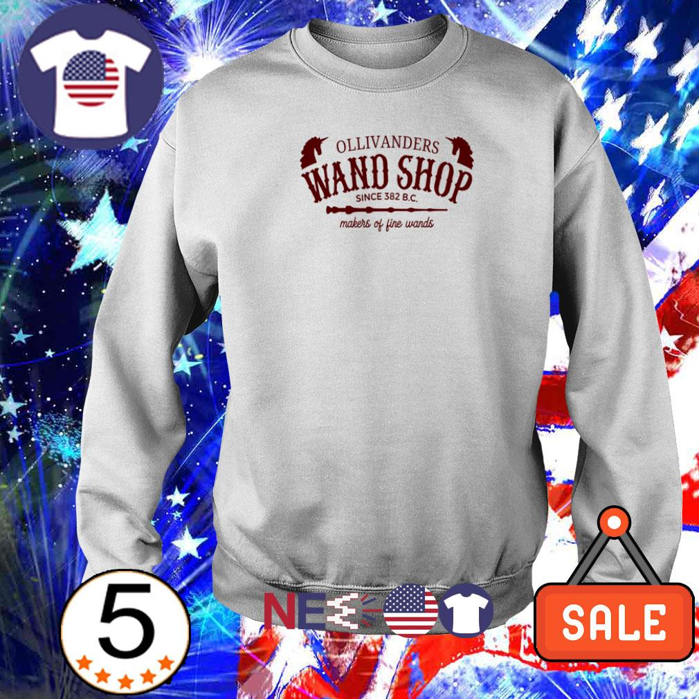 Ollivanders wand shop since 382 BC makers of fine wands shirt