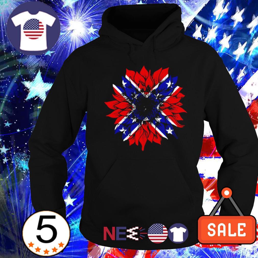 American flag Redneck Sunflower s hoodie