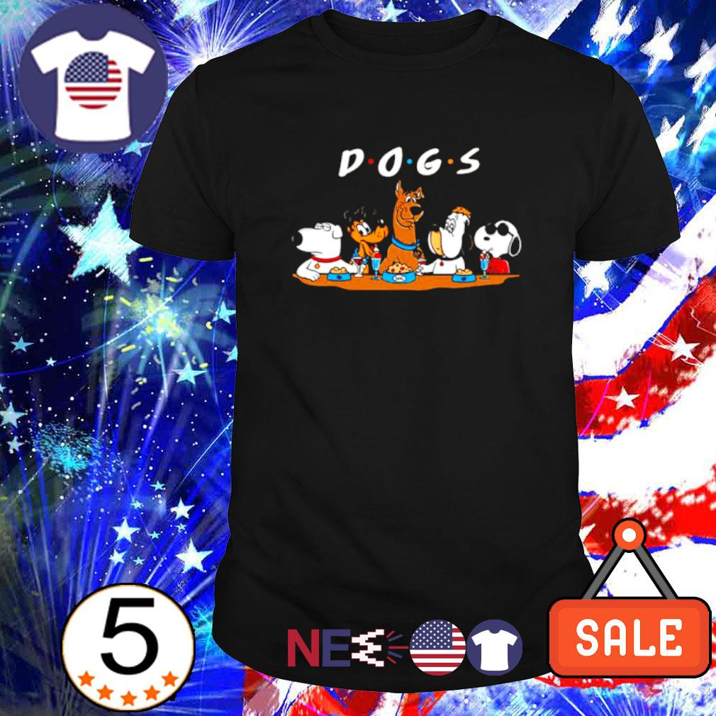 Scooby Doo Snoopy Dogs friends shirt