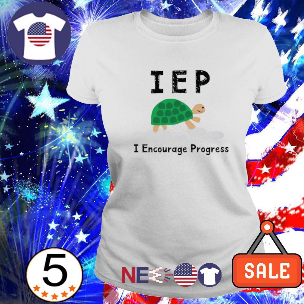 Turtle IEP I encourage progress s ladies tee