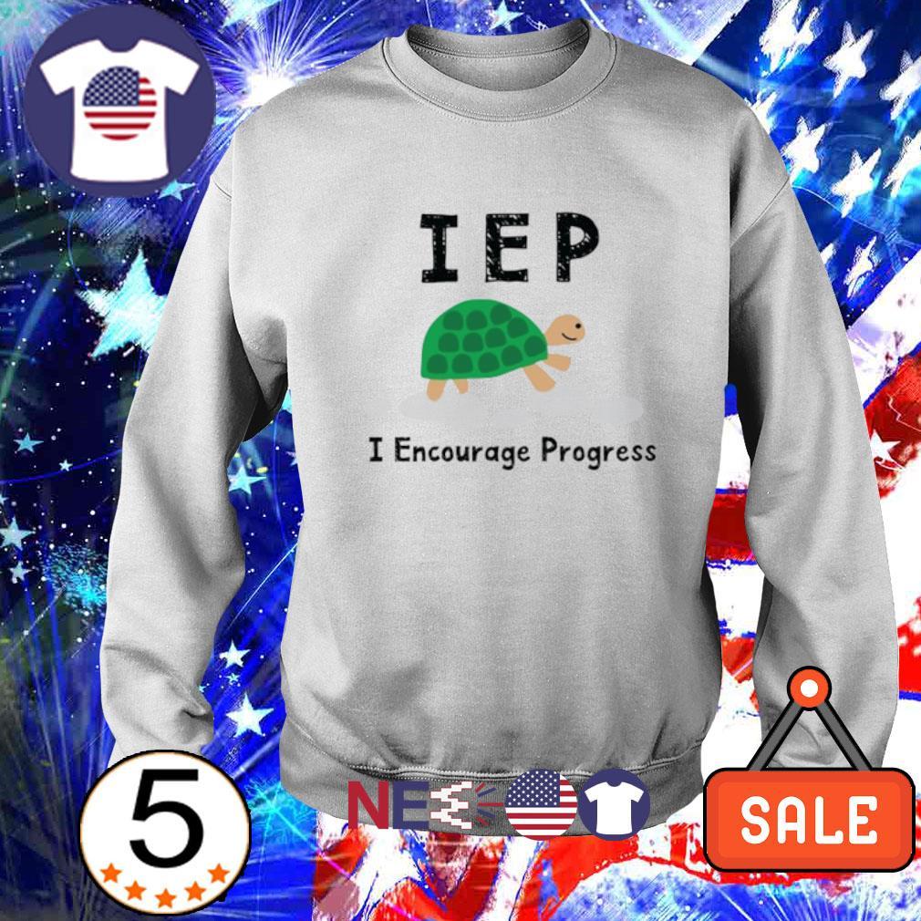 Turtle IEP I encourage progress s sweater