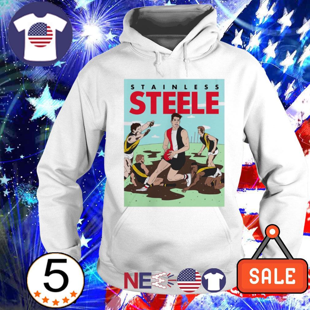 Stainless Steele baseball s hoodie
