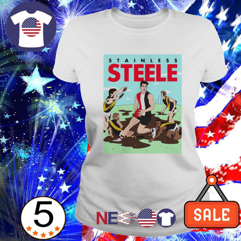 Stainless Steele baseball s ladies tee