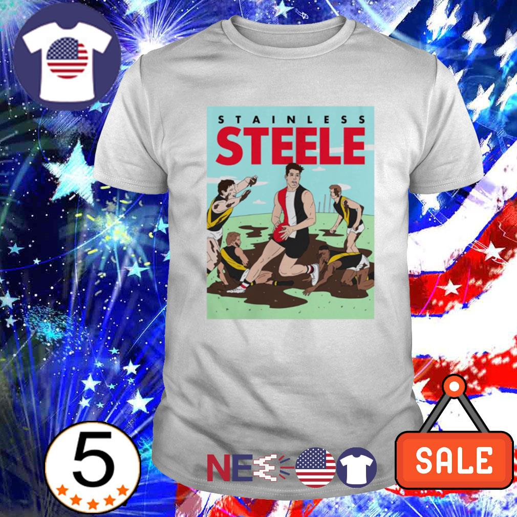 Stainless Steele baseball shirt