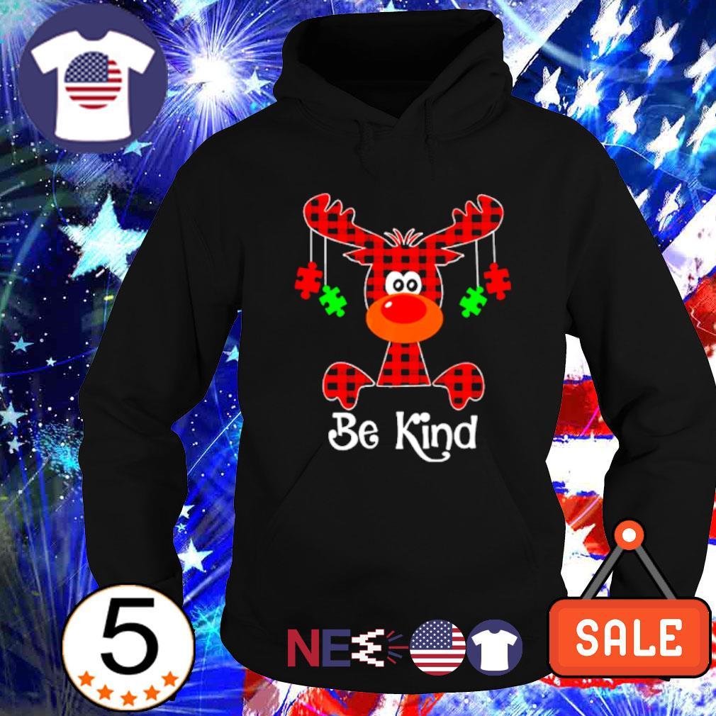 Autism Reindeer be kind Christmas s hoodie