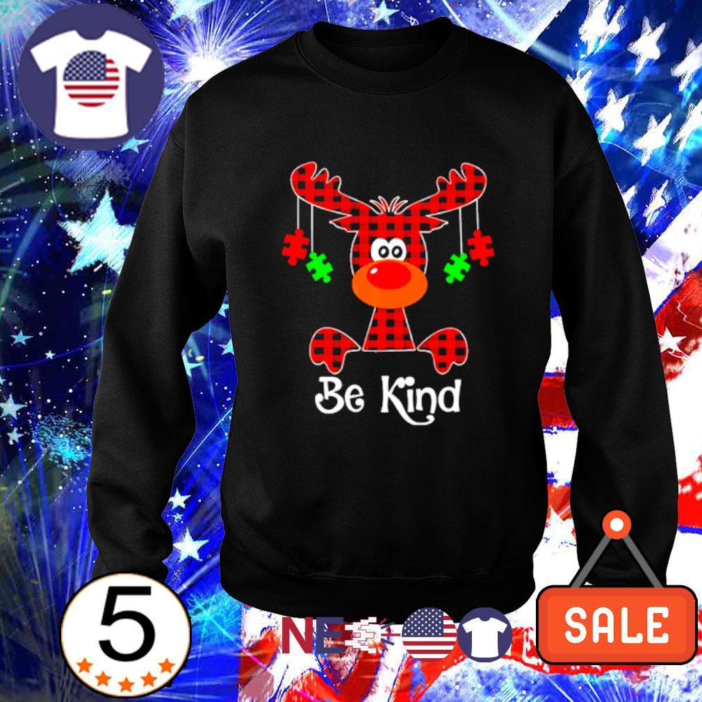 Autism Reindeer be kind Christmas s sweater