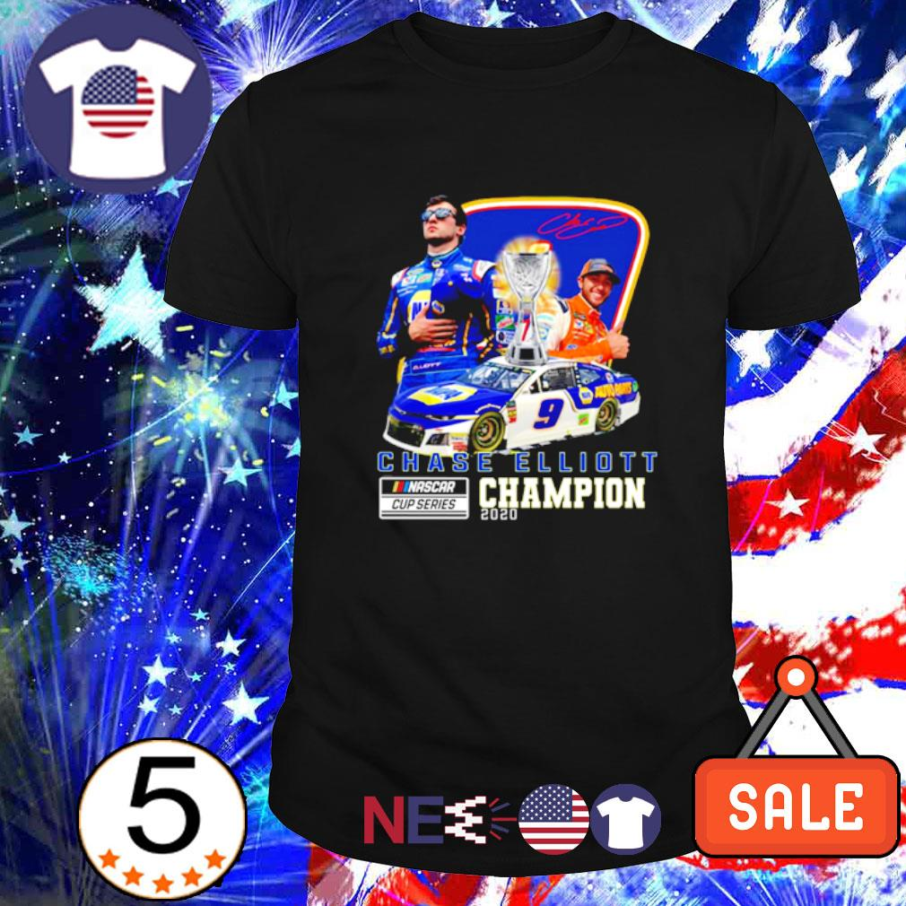 Chase Elliott Nascar cup series champion 2020 signature shirt