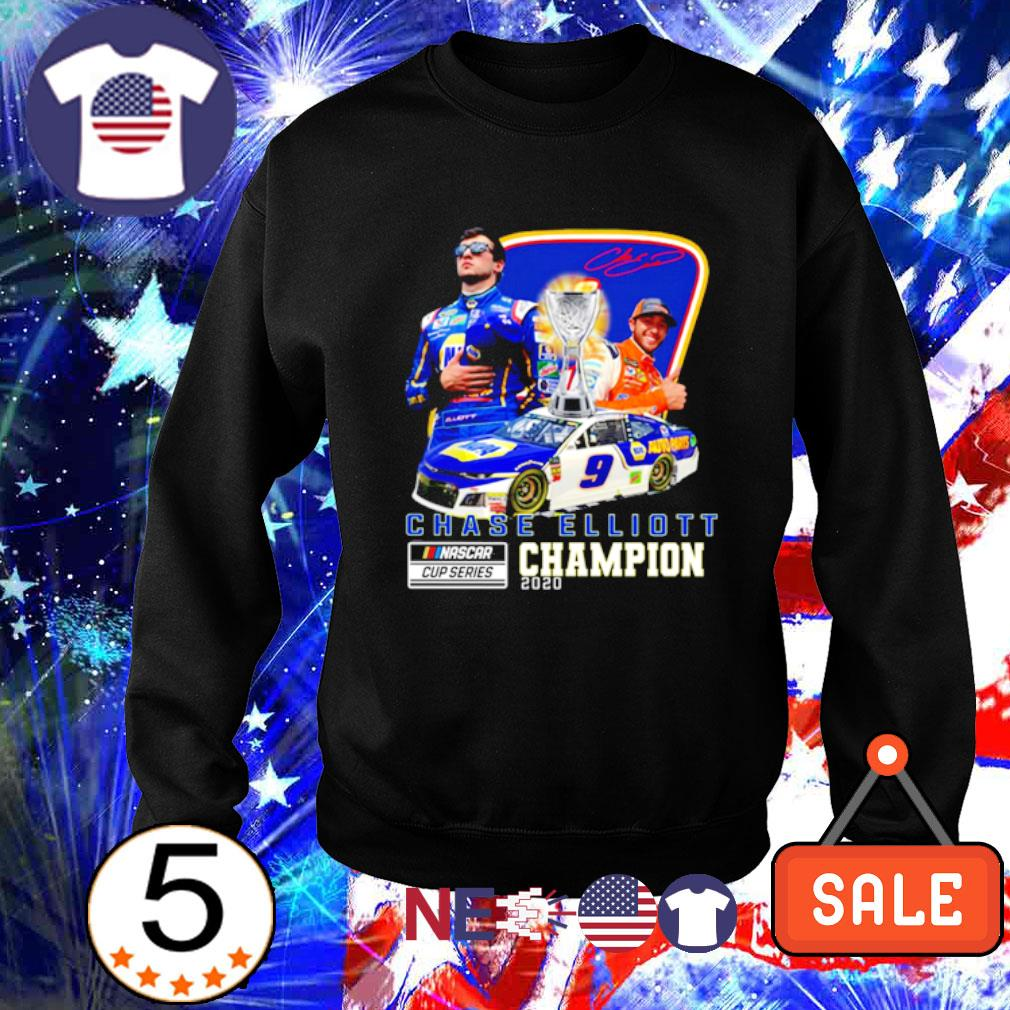 Chase Elliott Nascar cup series champion 2020 signature s sweater