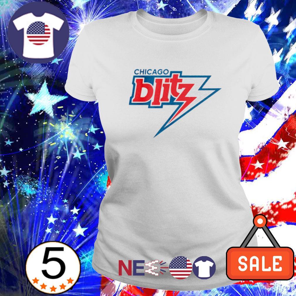 Chicago Blitz football s ladies tee