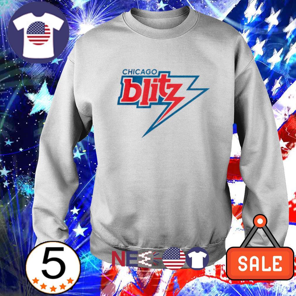 Chicago Blitz football s sweater