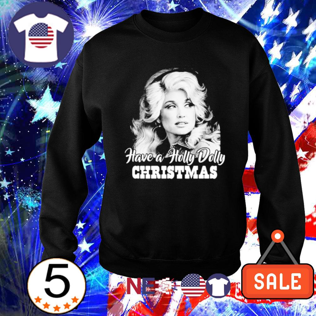 Dolly Parton Have a Holly Dolly Christmas s sweater