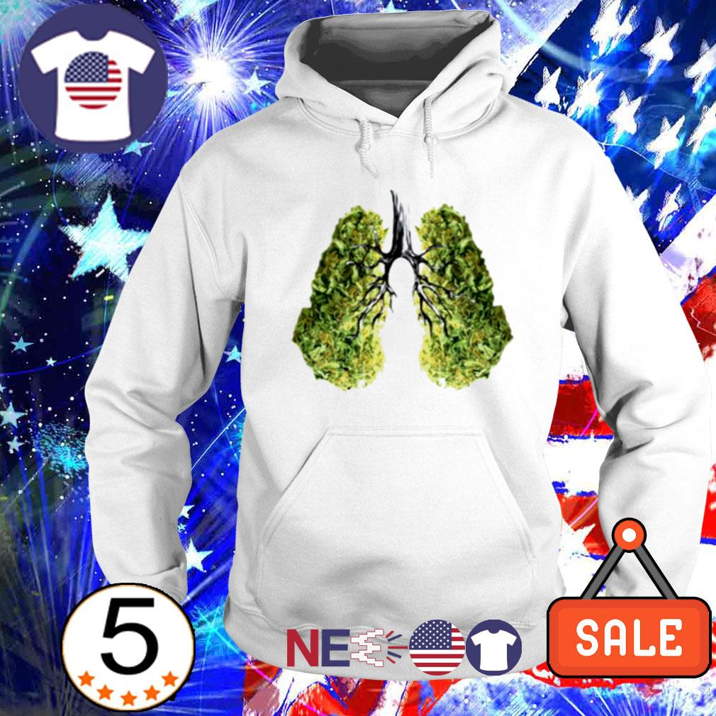 Green lungs s hoodie