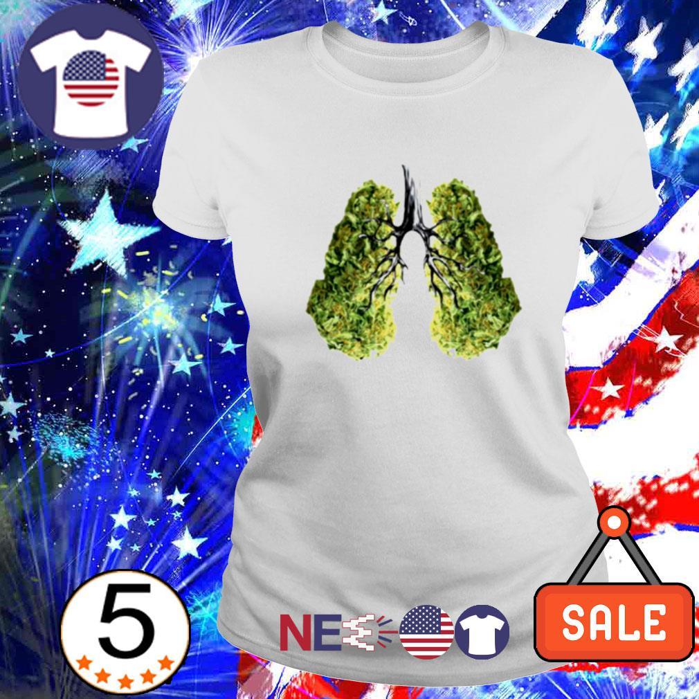 Green lungs s ladies tee