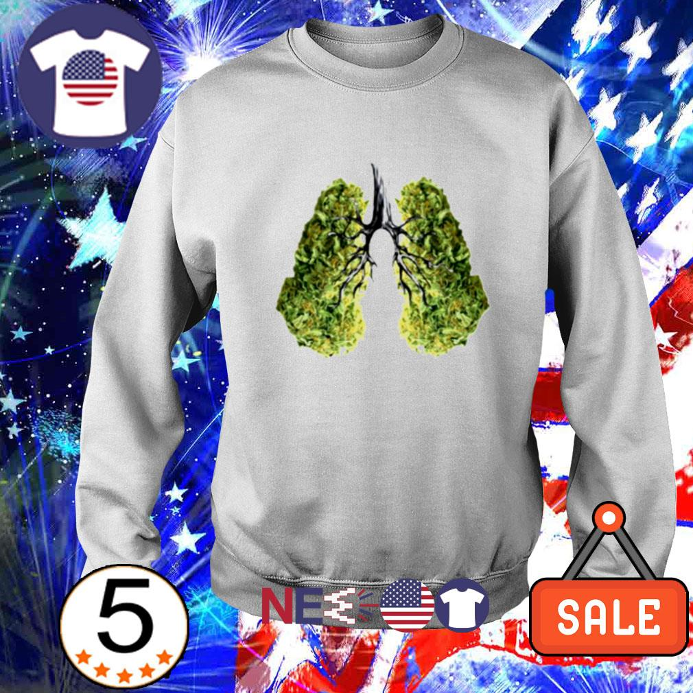 Green lungs s sweater