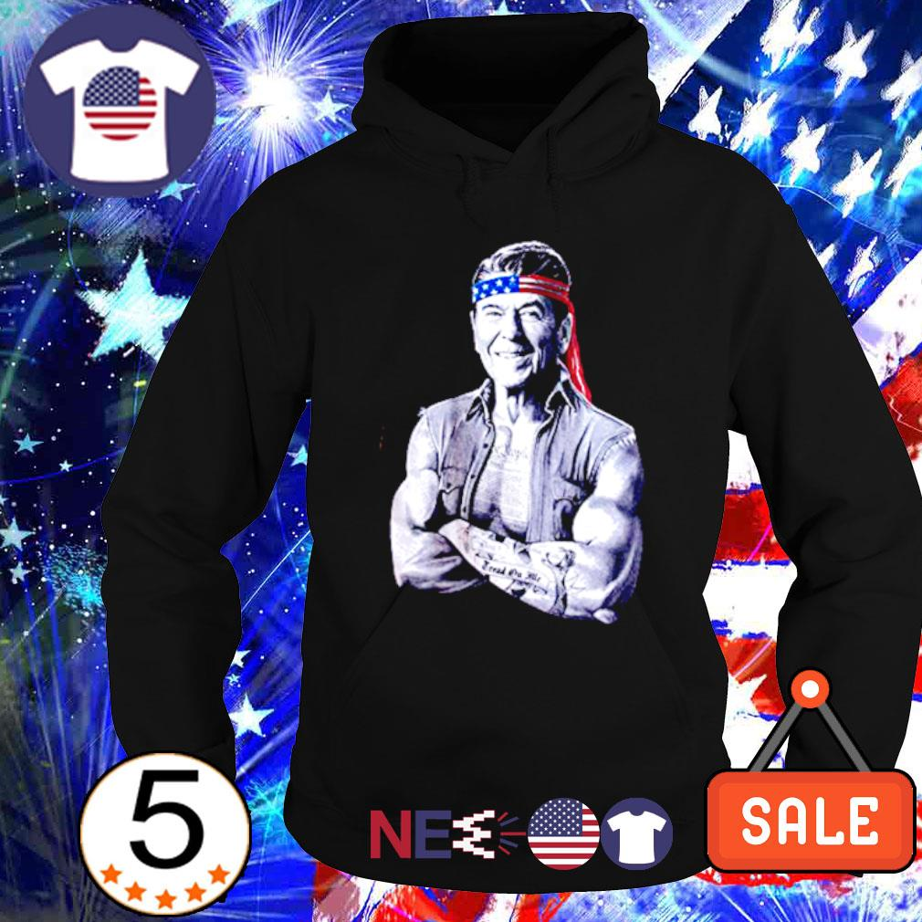 Ronald Reagan American icon epic conservative s hoodie
