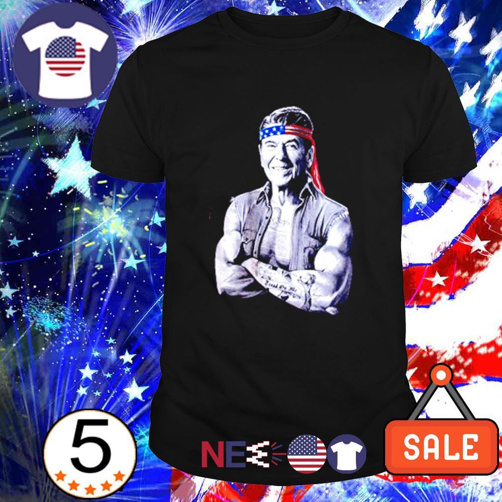 Ronald Reagan American icon epic conservative shirt