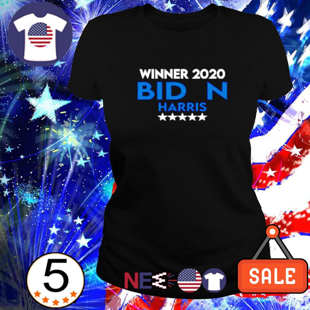 Winner 2020 Biden Harris president s ladies tee