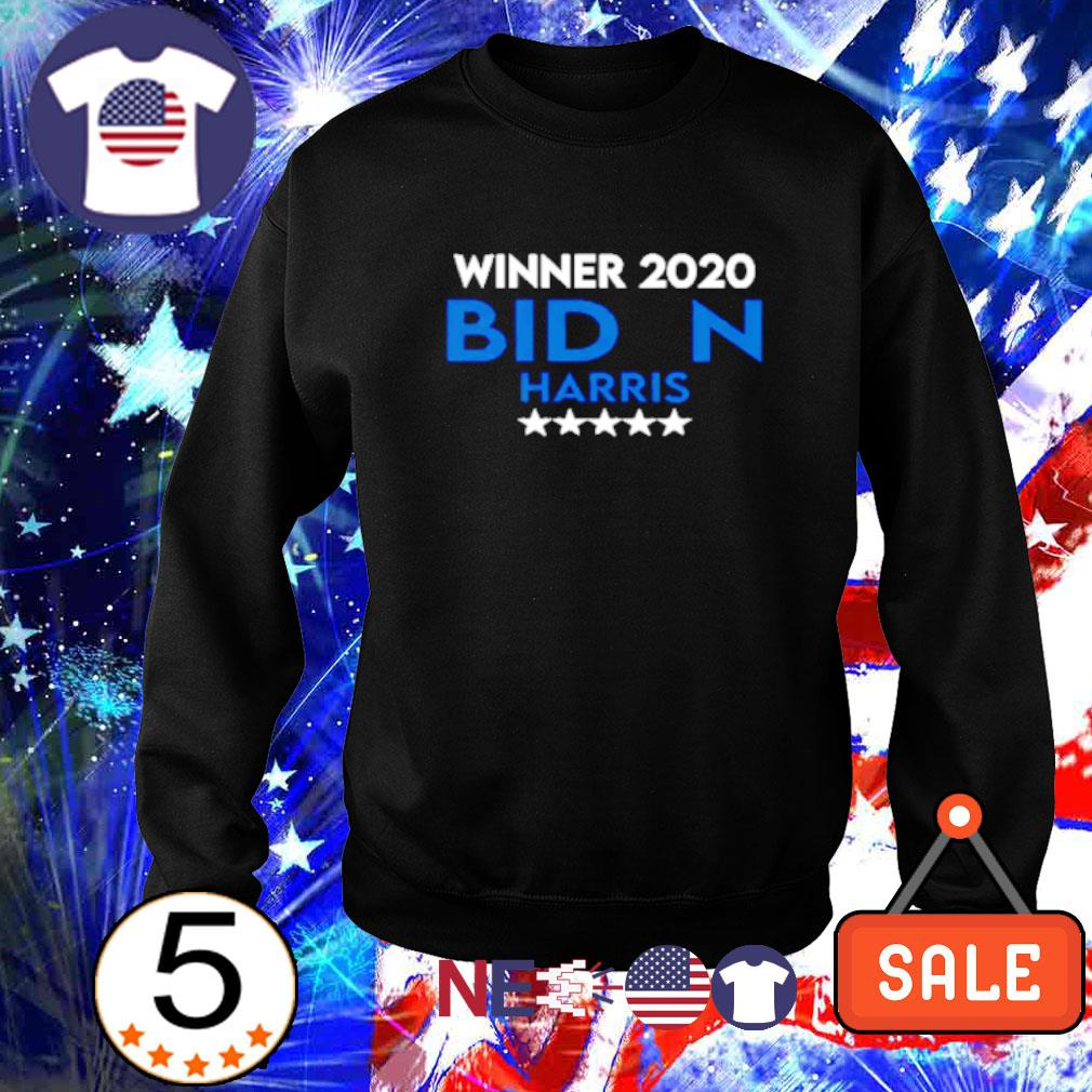 Winner 2020 Biden Harris president s sweater